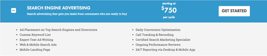 Reach Local Search Advertising Package