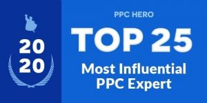 PPC Hero Top 25 Most Influential PPC Experts 2020